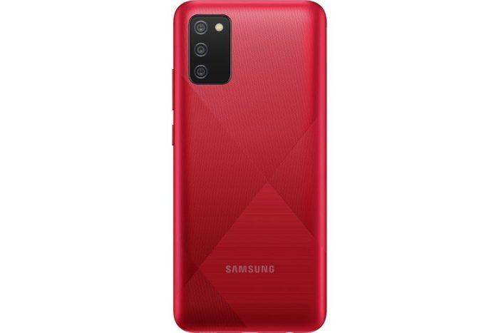 گوشی سامسونگ Galaxy A02s حافظه 32GB رم 3GB قرمز