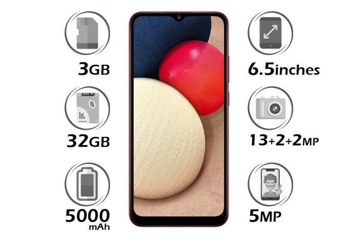 گوشی سامسونگ Galaxy A02s حافظه 32GB رم 3GB
