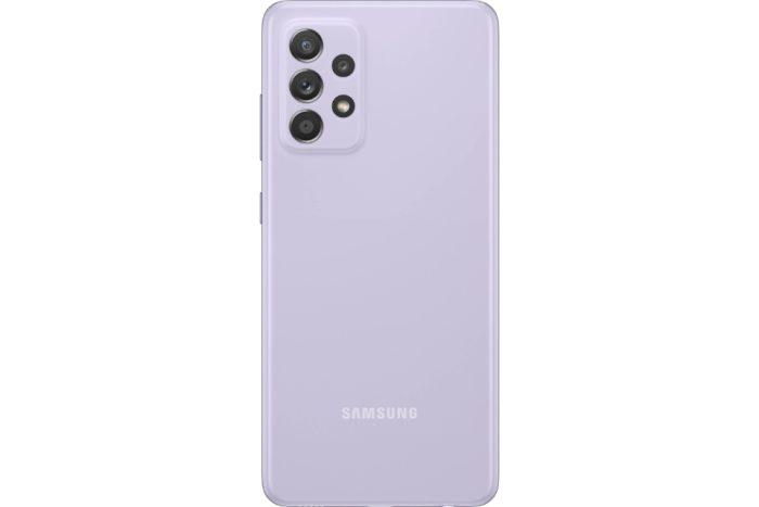 گوشی سامسونگ گلکسی A52 حافظه 128GB رم 6GB یاسی