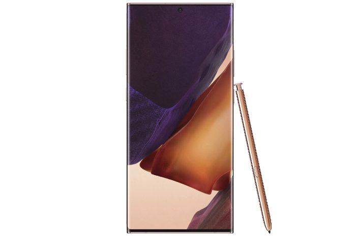 گوشی سامسونگ Galaxy Note20 Ultra 5G گنجایش 256GB رم 12GB برنزی