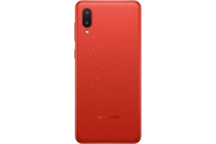 گوشی سامسونگ گلکسی A02 حافظه 64GB رم 3GB قرمز