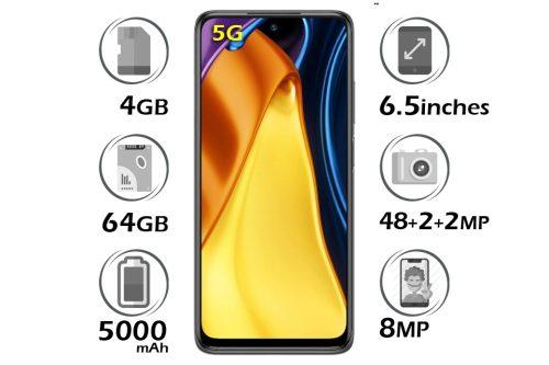 گوشی شیائومی Poco M3 Pro 5G حافظه 64GB رم 4 گیگابایت