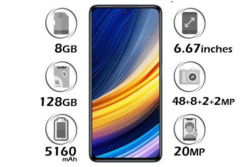 گوشی شیائومی پوکو X3 پرو حافظه 128 گیگابایت رم 8 گیگابایت