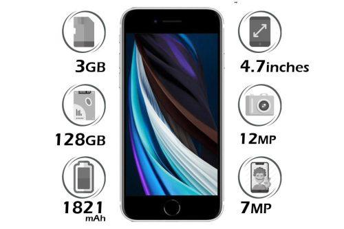 گوشی آیفون SE 2020 اپل 128 گیگابایت